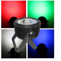 China Ip65 9pcs 10w Rgbw 4in1 Outdoor Waterproof Led Par Can 64 With Six Rainbow Effect on sale