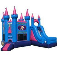 Best Sports arena inflatable combo / Moonwalk with Slide for Fun wholesale