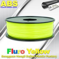 Best Fluorescent ABS 3d Printer Filament ABS 3D Printing Material For Desktop Printer wholesale