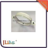 Quality Nut M7 Riveted Fixed Down Pipe Clamps White With Plastic Washers wholesale