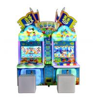 Cheap kids game machine driving arcade machine coin operated video game machines for sale