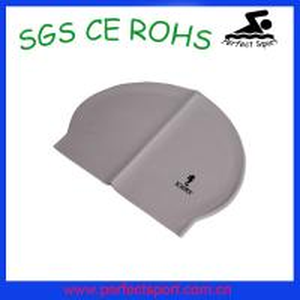 Best High silicone latex swim caps wholesale