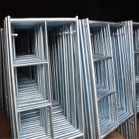 Best Temporary Door H Frame Lightweight Scaffolding Systems Strong Rust Resistance wholesale