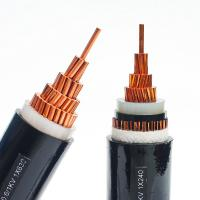 Cheap Electrical Lines 50mm 4 Core Armoured Cable , PVC Sheathed Power Cable Anti for sale