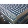 Buy cheap 70mm x 6mm Industrial Floor Grates Galvanized Steel Grating Platform Cross Bar from wholesalers