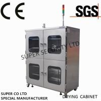 Buy cheap Electronic Stainless Nitrogen Dry Cabinet with towder light, anti-humidity and dehumidification from wholesalers