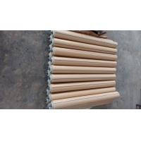 Best Nylon Material Conveyor Return Rollers , Replacement Conveyor Rollers Natural Color wholesale
