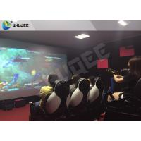 Best Multiplayer Interactive 7D Shooting Game 7D Movie Theater With Shooting Game And 9 Luxury Motion Seats wholesale