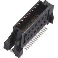 Best Male 0.635mm Board to Board Connector Gold-plated LCP Black/Natural (UL94V-0) wholesale