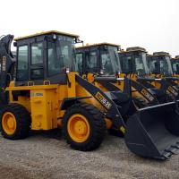 Best Yellow WZ30-25 XCMG Tractor With Front End Loader / Mini Backhoe Loader 1CBM 25.5T wholesale
