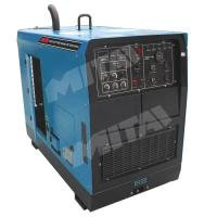 500A Single phase Industrial Steel Pipe Engine Driven Welding Machine for Structural Steelwork