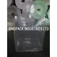 Best Transparent 3mil 6mil thickness Form Fit PE big bag liner of LLDPE/LDPE wholesale