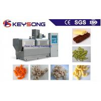 China Stainless Steel Food Processing Machinery Corn Puffing Snack Extruder Machine on sale
