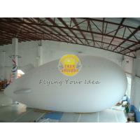 Best Fireproof Reusable Giant Advertising helium blimp / zeppelin Balloons with PVC wholesale