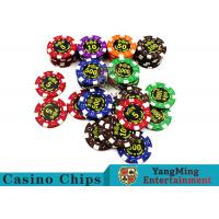 Best Good Printing Non - Faded Casino Royale Poker Chips With Special ABS Material wholesale