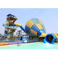 Best Commercial Funnel Water Slide Outdoor Hotle Holiday Resort Slides wholesale