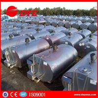 Best Large Refrigerated Milk Cooling Tank  Milk Transpration Tank CE Approved wholesale