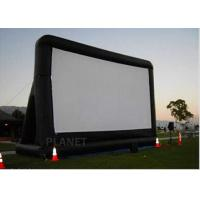 Best Open Air Inflatable Movie Screen Double Stitching AC 110V / 220V Supply Voltage wholesale