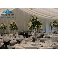 Best Long Life Span Outdoor Wedding Reception Tent For Party Banquet With Air Condition wholesale