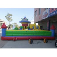 Best Oversized Inflatable Amusement Park High Safety Materials Bouncy Juming Castle wholesale