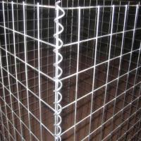 Cheap Welded Gabion Mesh Box / Galvanized Gabion Rock Wall Cages For Garden Fence for sale