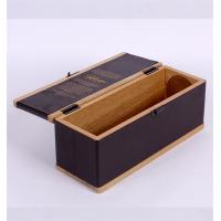 Best Promotion Wooden Wine Box ISO9001 2008 Certification , Empty Wine Boxes wholesale