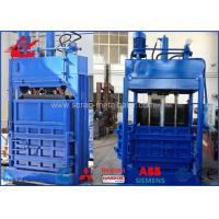 Best Vertical Waste Paper Baler PP Bags Cardboard PET Bottles Baling Press Machine With Conveyor wholesale