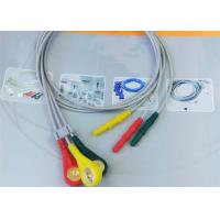 Cheap Patient ECG Monitor Cable 3 Color Alligator clip electrodes Needle Electrode for sale