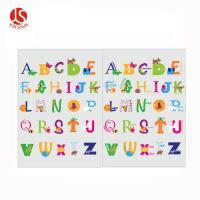 Best Interesting Letters Game Printed Plastic Placemat for Kids Usage wholesale