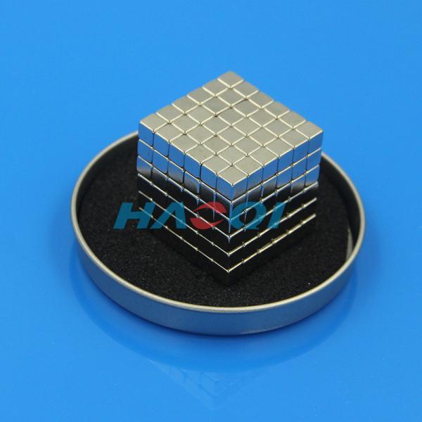 Cheap magic neodymium magnets block cube for sale