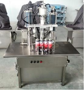 QGB-900C Semi-automatic Aerosol Filling Machine