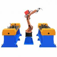 Cheap Customized Side Wall Automatic Welding Robot Production Line Equipment, fanuc for sale