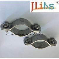 Quality Multicolor Pleated Volt - Endurance Cast Iron Pipe Clamps For Water Pipeline wholesale