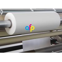 Best 18 Mic Matte Lamination Film For UV Varnish 17 - 250 Micron Thickness Optional wholesale