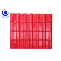 Best Great Productive Capacity Color ASA Coated Corrugated Synthetic Resin Roof Tile wholesale