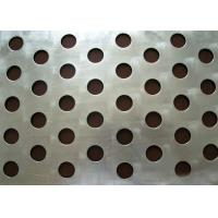 Best Round Hole Perforated Steel Sheet , Q235 Steel Galvanised Perforated Sheet wholesale