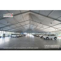 China 30m White PVC High Peak Tents with Hard Pressed Extruded Aluminum Alloy Frame on sale