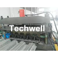 Best Steel Structure Floor Deck Cold Roll Forming Machine For Galvanized Steel Sheet wholesale