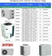 Best swimming pool heat pump cooling (1.5HP~20HP heating thermostats) wholesale
