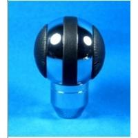 Best Black + Sliver Aluminum Racing Auto Gear Knob For Man , Round Shift Knob wholesale