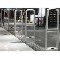Best Flame Retardent HIPS EAS Security System For Retail Store Entrance White / Grey Color wholesale