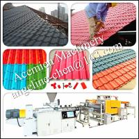 Best light weight high strength, noise and heat insulation pvc roof sheet production line wholesale