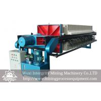 Best Mineral Tailings Dewatering , Sludge Dewatering Frame Filter Press wholesale