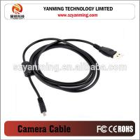 China Digital Camera USB Cable Charger Cable for NIKON UC-E6 mini 8pins on sale