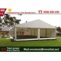 Best M20 A Frame Tent Aluminum Frame Structure With Furniture Tear Resistant wholesale