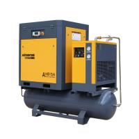Best ASME Approved 7.5KW 10HP portable Rotary Screw Air Compressor Prices With 300/500 Liter Tank And Dryer wholesale