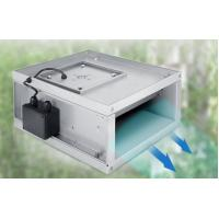 Best Compact Structure Rectangular Duct Fan For Air Exhausting System 125W wholesale