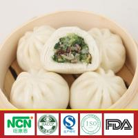 China chinese dim sum frozen Steamed Stuffed Bun with Mushroom and Vegetable Stuffing on sale