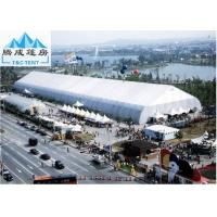 Best Galvanized Steel 30x50m Sporting Event Tents , White PVC Roof Aluminum Marquee wholesale