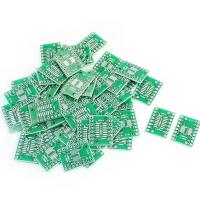 Best 50-X-SOP16-SSOP16-TSSOP16-to-DIP16-0-65-1-27mm-IC-PCB Adapter Socket Boards wholesale